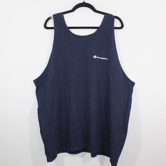 35a5547d Champion Shirts | Vintage 90s Spell Out Tank Top Shirt 2xl | Poshmark